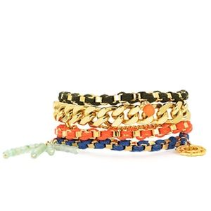 Juicy Couture Jewelry - Juicy Couture BAHIA MULTI STRAND CHARM BRACELET